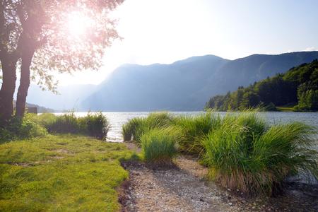 bohinj: Lake Bohinj in Slovenia