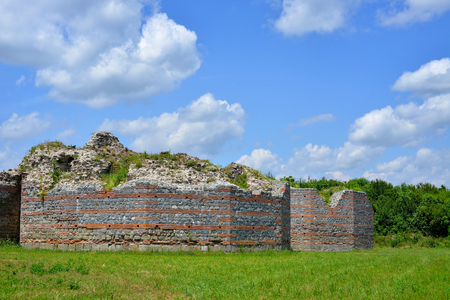 emperor: Felix Romuliana, ancient Roman emperor Galerius palace, Zajecar, Serbia Editorial