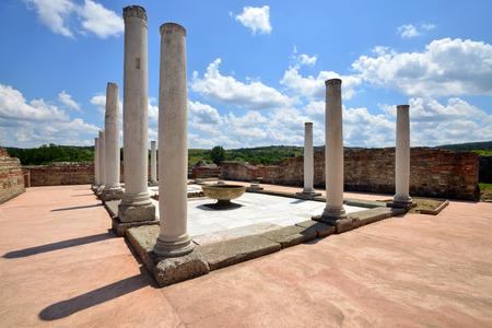 emperor: Felix Romuliana, ancient Roman emperor Galerius  palace
