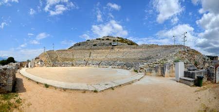 teatro antiguo: Ancient theatre at Filipi, Kavala, Greece