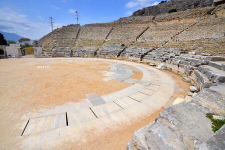 Ancient theatre at Filipi, Kavala, Greece