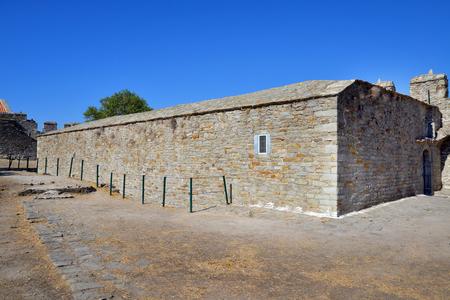 gunpowder: Old medieval gunpowder storage house, Kavala, Greece