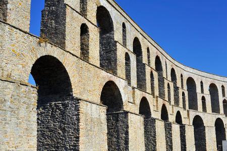 Ancient Roman Aqueduct, Kavala, Greece