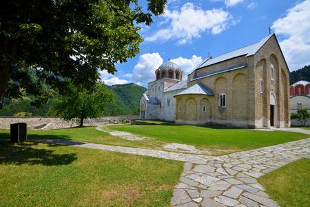 12th century: Serbian orthodox monastery Studenica, established by Stefan Nemanja in the late 12th century Stock Photo