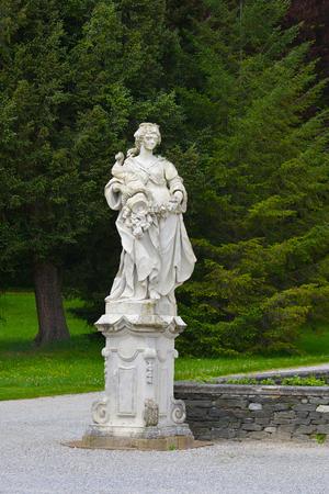 GRAZ, AUSTRIA - MAY 1:Eggenberg castle, on May 1. 2018. in Graz, Austria