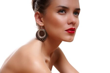 Portrait an attractive young lady Stock Photo - 7367903