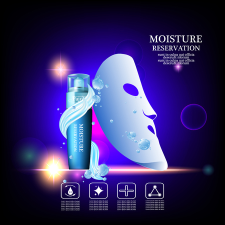 absorption: Pajoy moisture cream reservation, Improves moisture absorption for skin in the  splash water and silk mask
