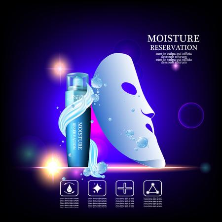 moisturizing: Pajoy moisture cream reservation, Improves moisture absorption for skin in the  splash water and silk mask