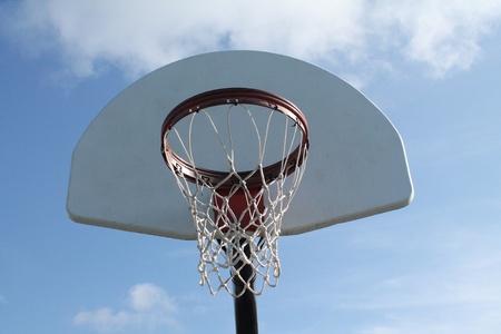 ストック バスケット ボール フープ
