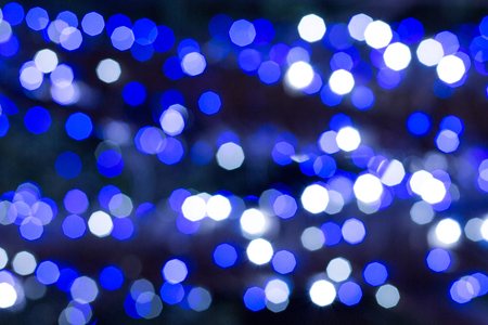 jams: Artistic style - abstract texture blue bokeh lights.