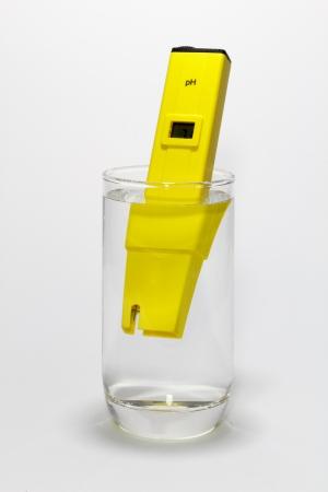 ph: Drinking Water Testing pH by Digital pH Meter Tester