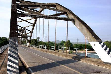 conveys: Arch bridge conveys the era.