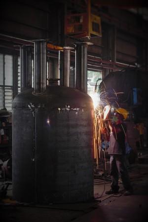 mig: MIG welding job on going