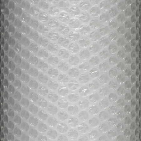 Plastic bubble wrap roll