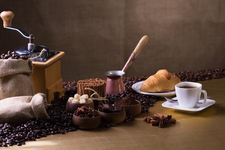 Coffee making stuff Stock Photo - 20870585