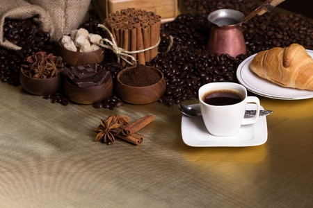 Coffee and spices Stock Photo - 20870603