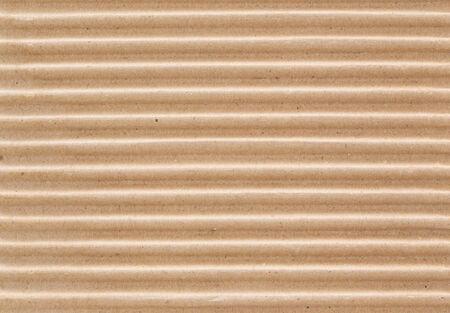 Corrugated cardboard macro texture