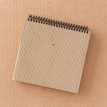 Cardboard notepad photo