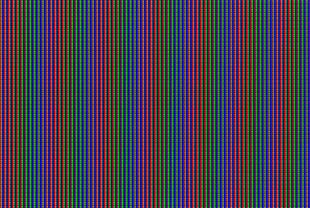 Macro shot of LCD TV matrix photo