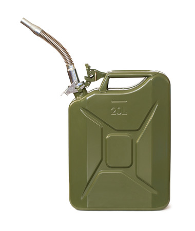 Jerrycan with flexi pipe spout