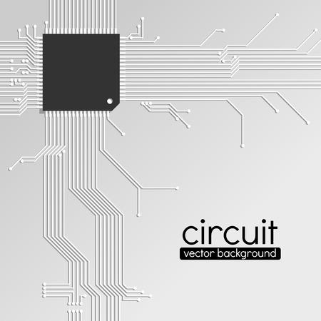 electrical networks: Fondo de la tarjeta de circuito, el esquema de color gris claro