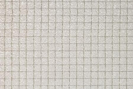 白い安全有線ガラス テクスチャ マクロ撮影