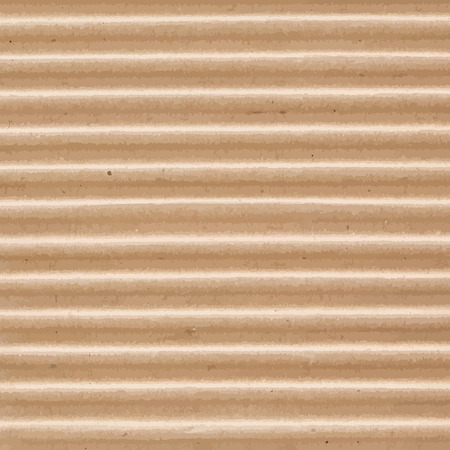 corrugated cardboard: Corrugated cardboard texture. Geometric striped texture. Illustration