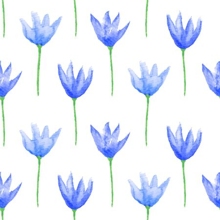 printables: Seamless floral pattern. Hand painted watercolor flowers.  Graphic element for baby shower or wedding invitations, birthday card, printables, wallpaper, scrapbooking. Vector illustration.
