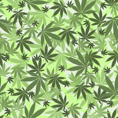 legalize: Seamless cannabis leaves pattern. Medical marijuana, legalize culture concept.