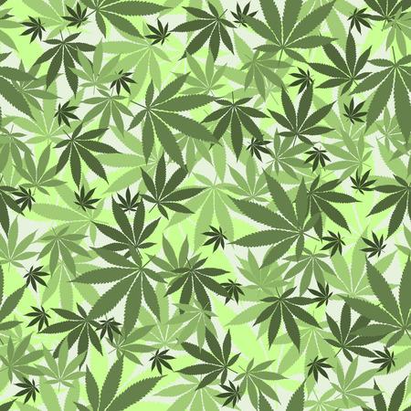 legalize: Seamless cannabis leaves pattern. Medical marijuana, legalize culture concept.