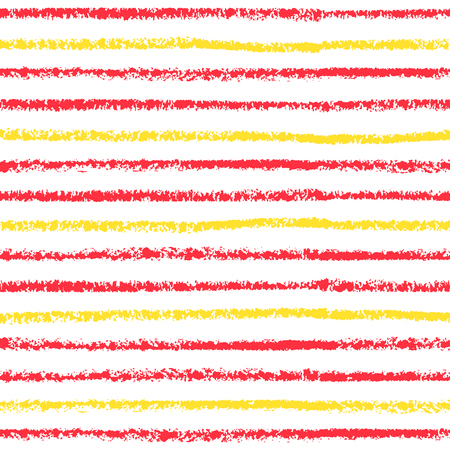 Striped seamless pattern. Hand painted oil pastel crayon. Design element for printables, wallpapers, baby shower invitation, birthday card, scrapbooking, fabric print etc. Illustration