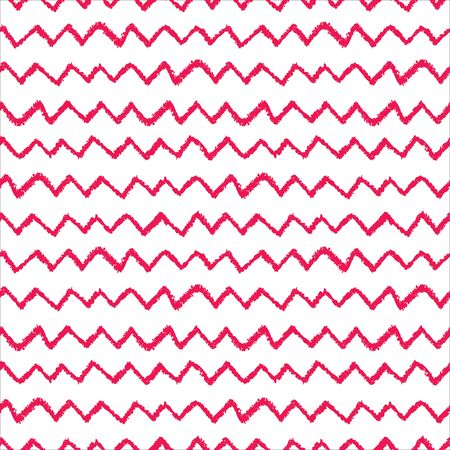 printables: Seamless chevron pattern. Hand painted with oil pastel crayons. Red stripes on white background. Design element for printables, wallpaper, baby shower invitation, birthday card, scrapbooking etc.