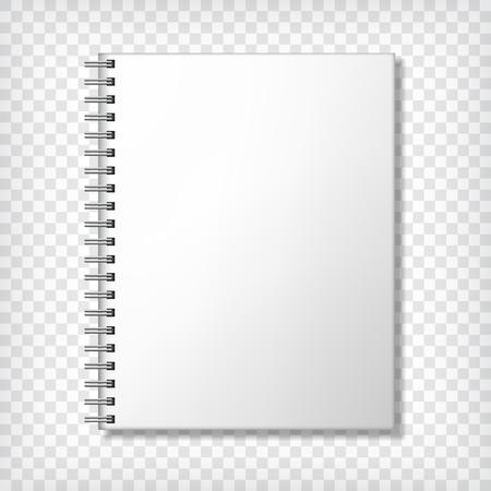 Maqueta Notebook, con el lugar de la textura. La identidad corporativa