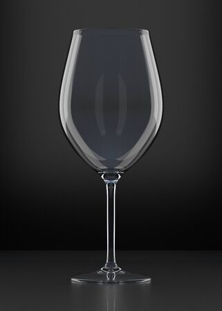 alcoholic beverage: Wine glass. Red wine in a glass. Clear glass with red drink. Alcoholic beverage. Graphic design element.
