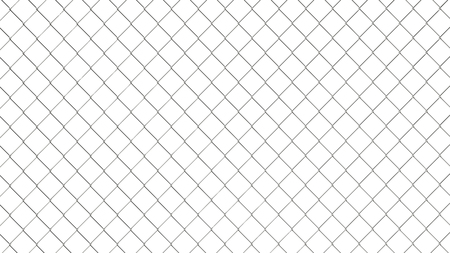 metal mesh: Chain link fence pattern. Industrial style wallpaper