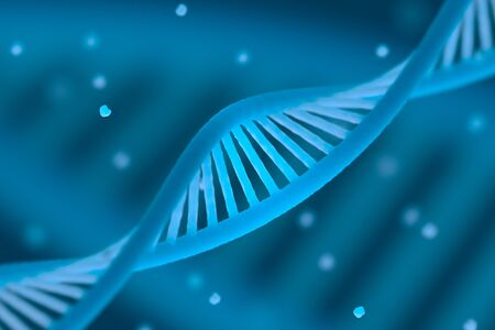 macroshot: DNA chain macroshot