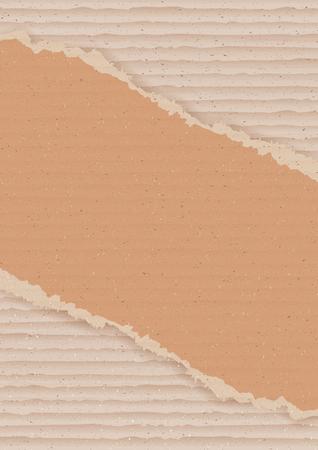 diagonal: Corrugated cardboard background