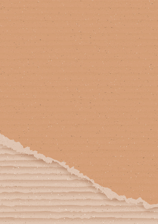 sheet of paper: Corrugated cardboard background