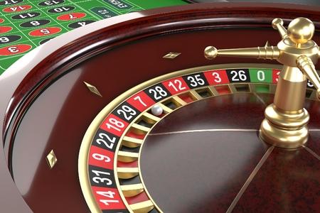 Casino roulette fond Banque d'images - 84611810