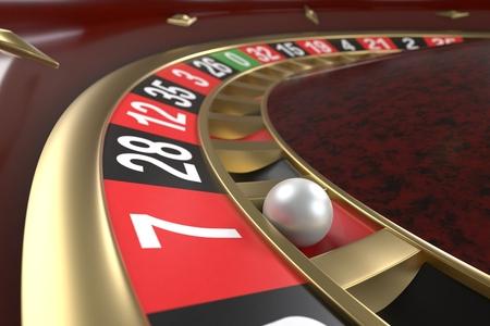 Casino roulette achtergrond