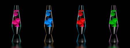Lava lamp Banco de Imagens
