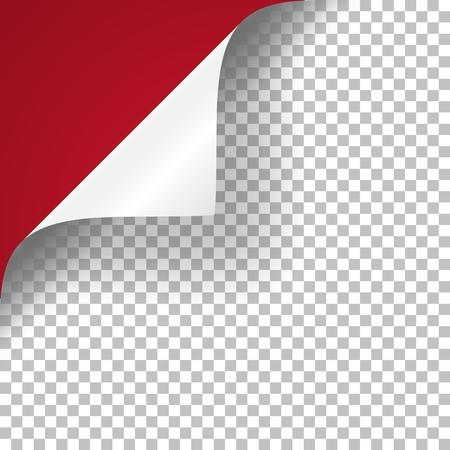 Curly Page Corner Vektorgrafik