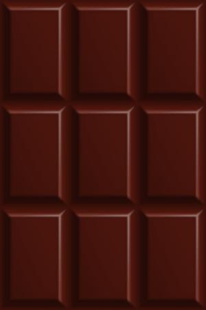 Dark bitter chocolate seamless pattern Stock Illustratie