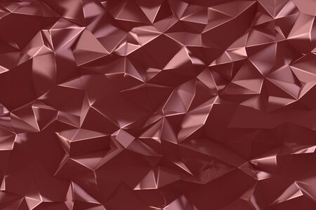 Abstract low poly triangles. Geometric background. Graphic design element for scrapbooking, web site backdrop, flyer, poste, book. Origami style ornament texture. 3d illustration