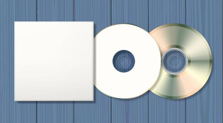 Blank disk and case template