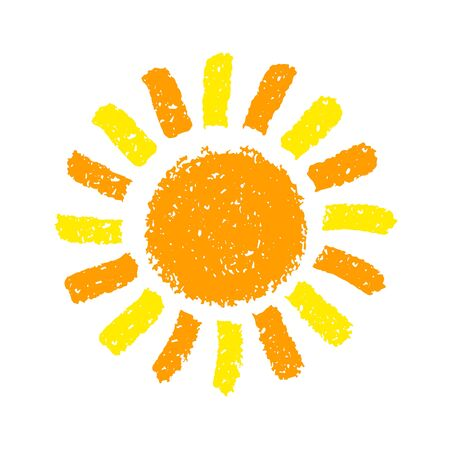 Hand Drawn Sun illustration