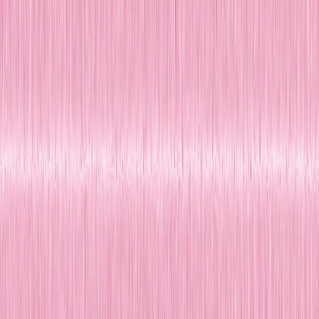 Realistic light pink straight hair texture with glossy shiny detail. Vector illustration.