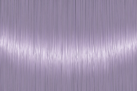 Realistic grey violet straight hair texture with glossy shiny detail. Vector illustration.
