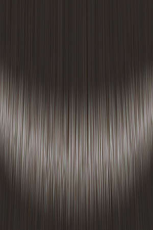 Realistic dark black straight hair texture background