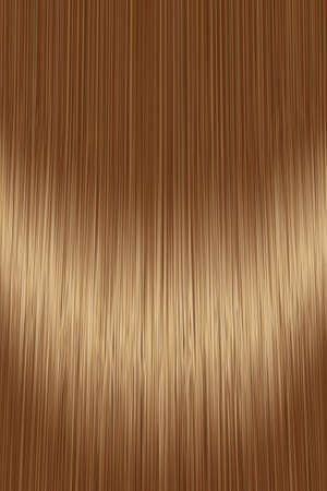 Realistic golden brown brunette hair texture background